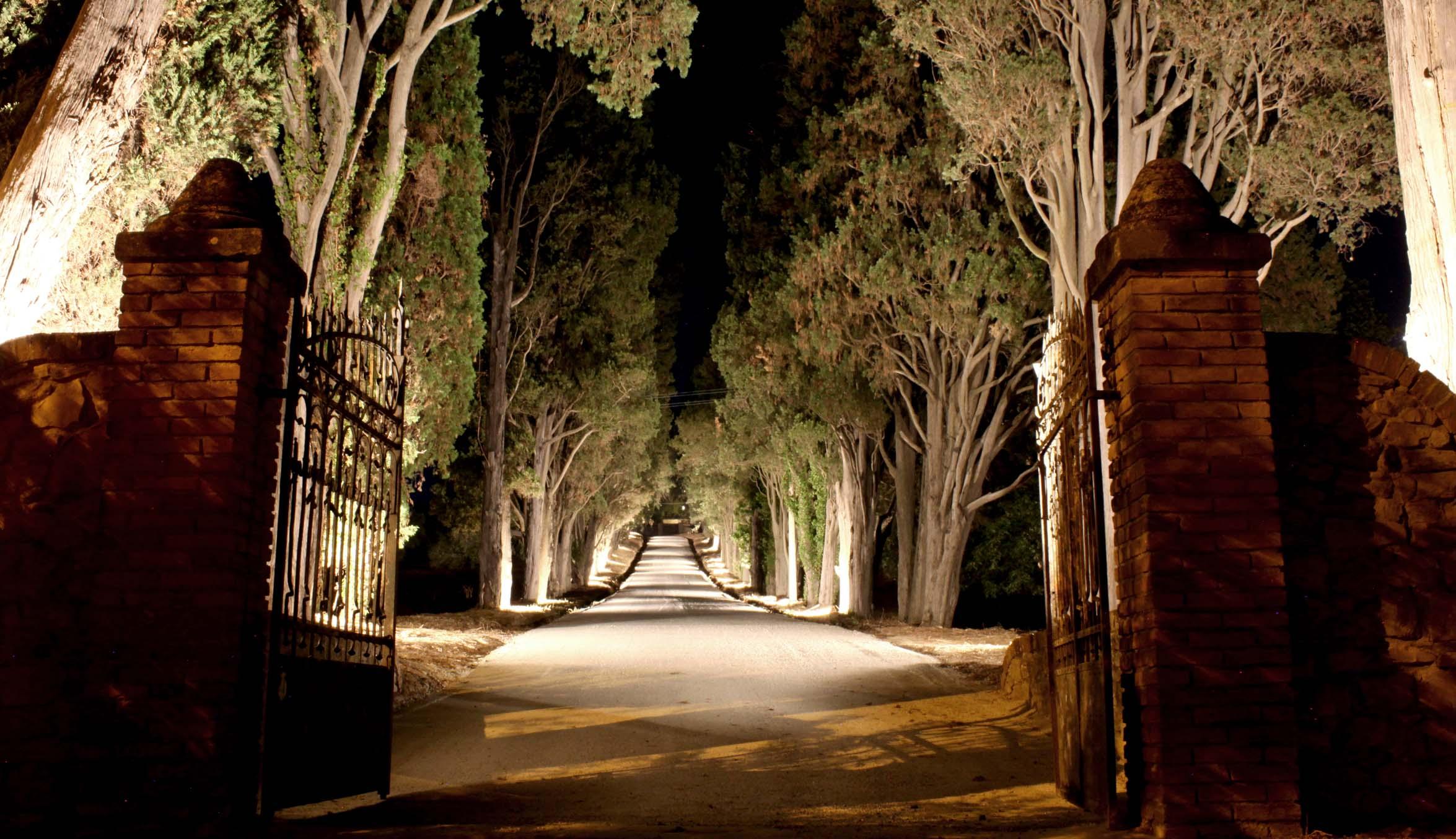 Ingresso Villa i Cipressi